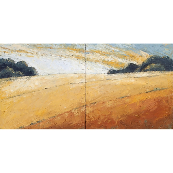 Coppertone (diptych)