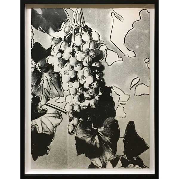 ANDY WARHOL  Grapes, 1979