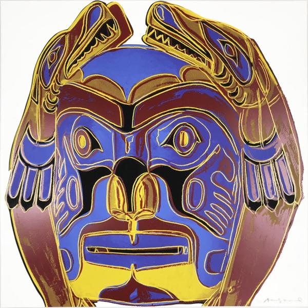 Cowboys & Indians: Northwest Coast Mask II.380, 1986, Ed./250