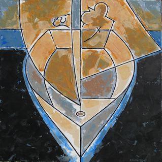 Ghost Sailer  Vessel Series 25