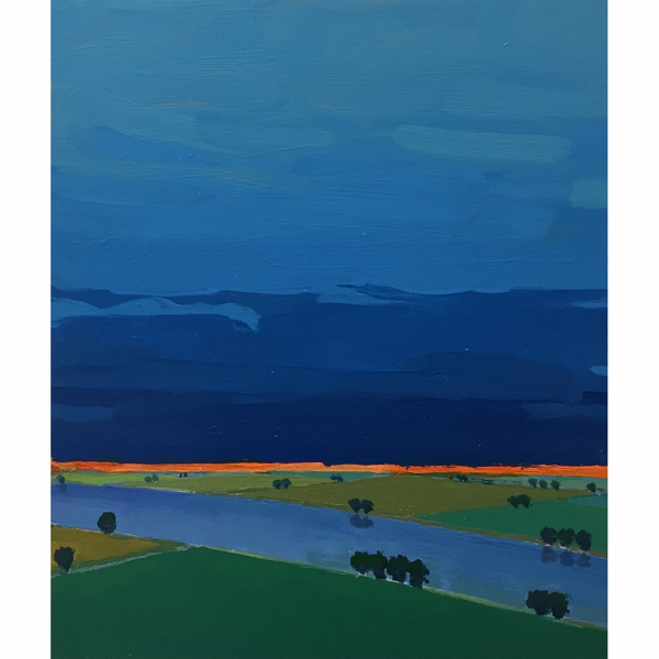 Primary Landscape (Blue)