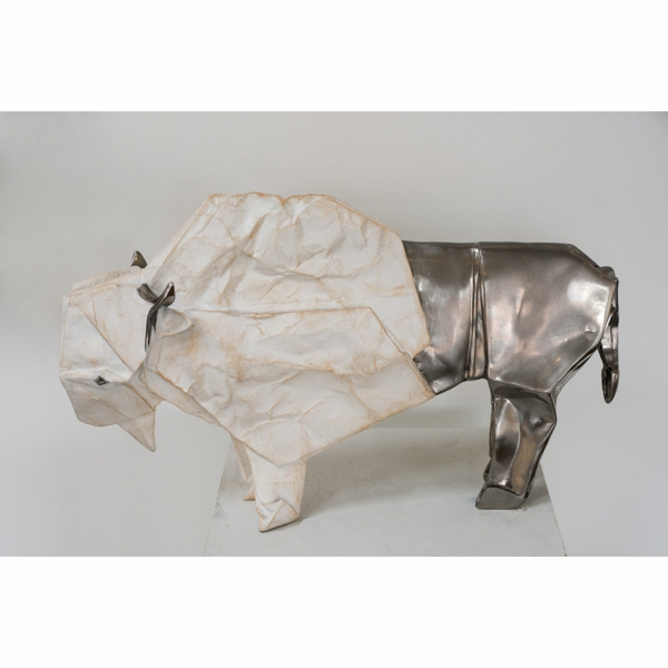 White Bison (Medium Stainless Steel) 7/12 - Robert J. Lang