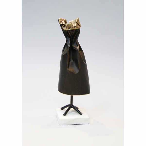 Little Black Dress (with Ruffles) - Jennifer Box