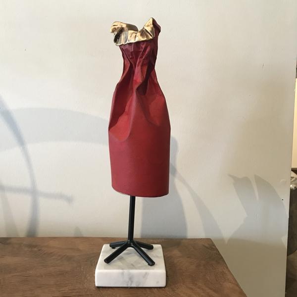 Little Red Dress (with Ruffles) - Jennifer Box