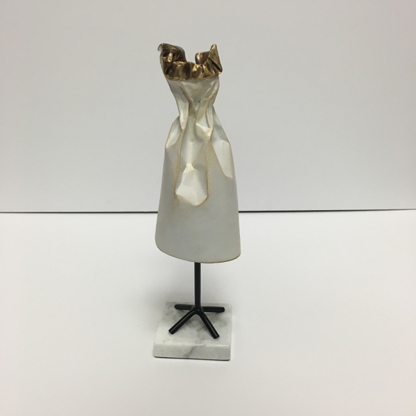Little White Dress (with Ruffles) - Jennifer Box