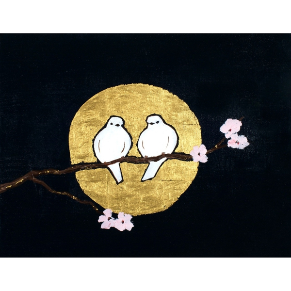 Moon Rising (Postcard Back) 3521