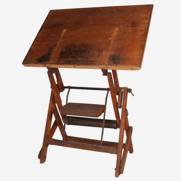 Vintage Architect's Desk, c. 1950's
