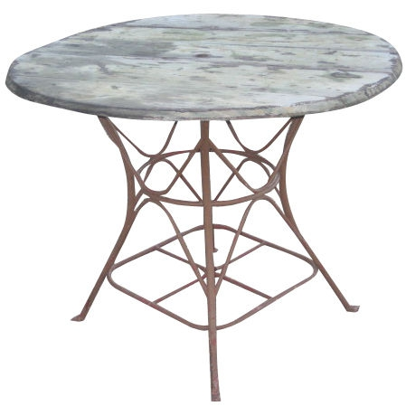 Vintage Table de Jardin, France c. 1900 | ÆRENA Galleries ...