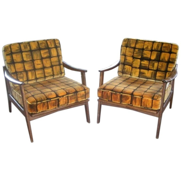 Vintage Swedish Design Chairs, circa 1960