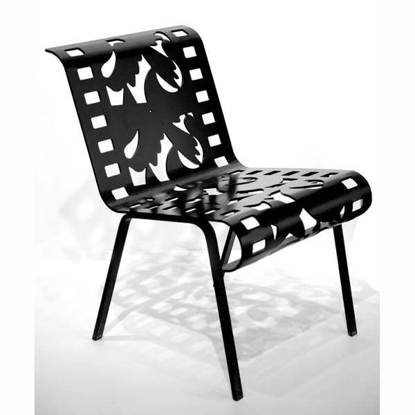 Chairs from Cutting Room Floor Series - Black  5/48