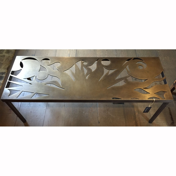 Sun & Waves Bronze bench Ed of 8