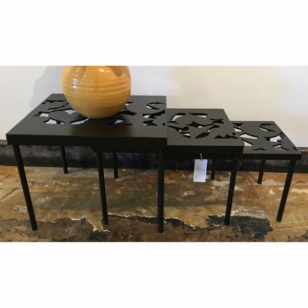 Sonata Nesting Table - 1 - Black  3/50