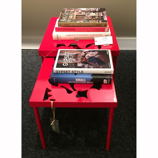 Sonata Nesting Table - 2- red  5/50