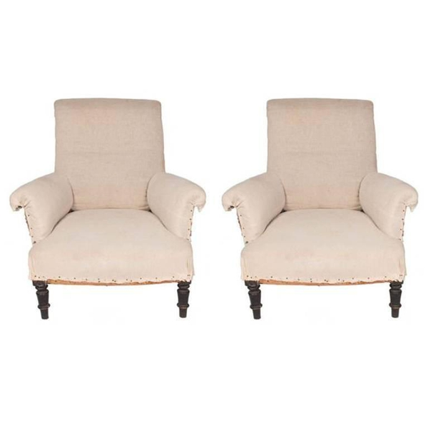 Pair of Napoleon III Chairs, c. 1870's