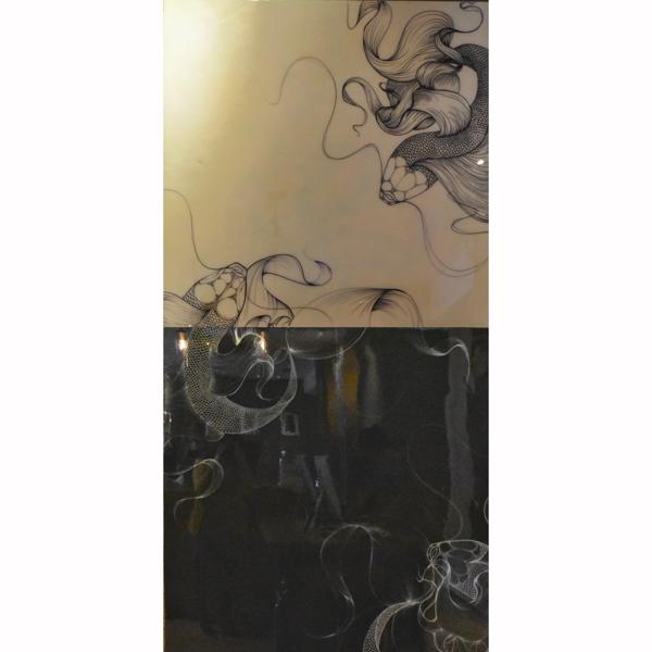 Yin Yang III (diptych)