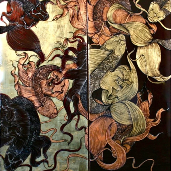 Contrapositive (diptych)