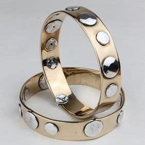 Bangle #18 - Bronze/Aluminum