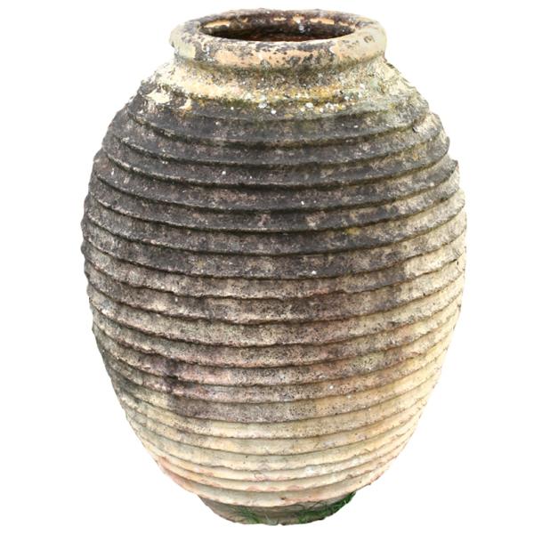 19th Century Mediterranean Olive Jar