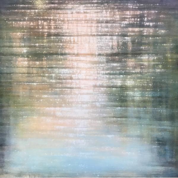 Sunlit Shore Reflections Studies #1