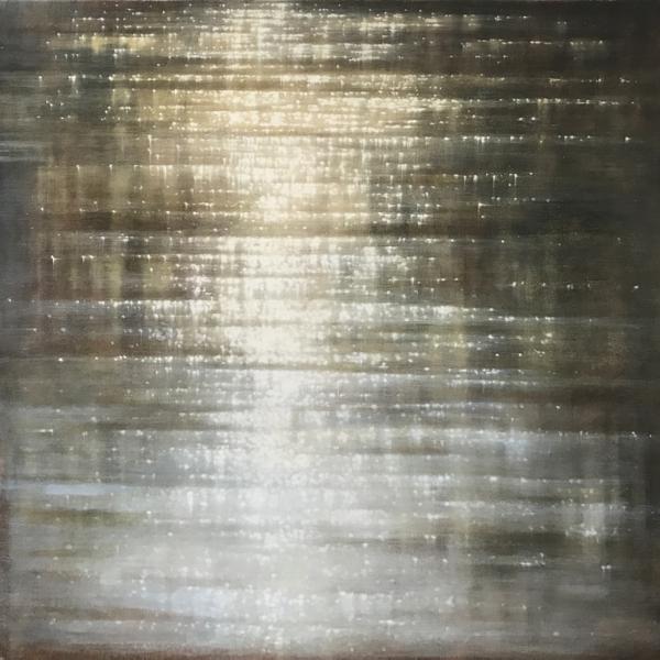 Sunlit Shore Reflections Studies #3