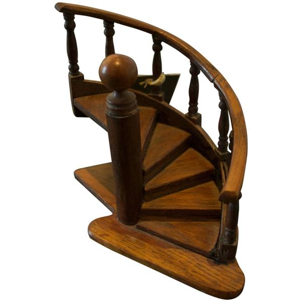 Small Staircase Carpenter's Model, c. 1920s