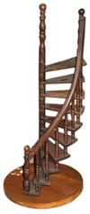 Vintage Carpenter's Staircase Model