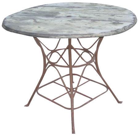 Vintage Table de Jardin, France c. 1900