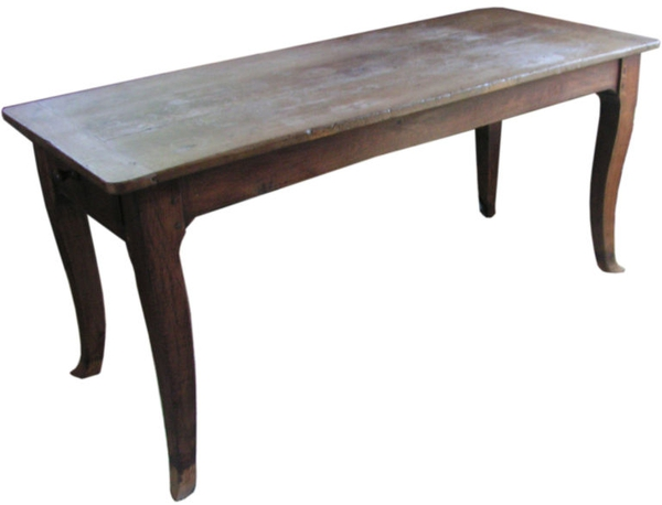 Vintage French Country Farm Table, c. 18th Century