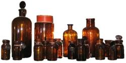 Vintage Apothecary Bottles, France, circa 19th Century