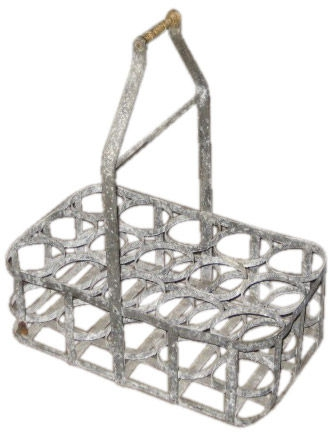 Vintage Bottle Carrier, Belgium, c. 1920