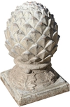 French Terracotta Artichoke Finial c.1960's