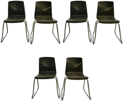 Vintage Flototto Pagholz Chairs, circa 1970