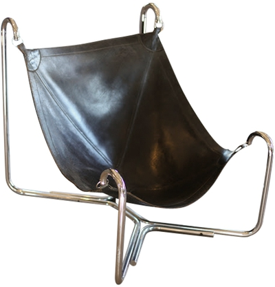 Baffo Groupo Leather Chair by Busnelli - each