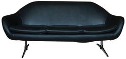 Vintage Black Sofa