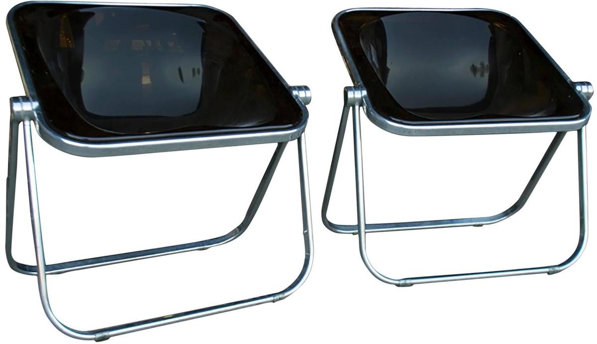 Pair of Plona Folding Chairs