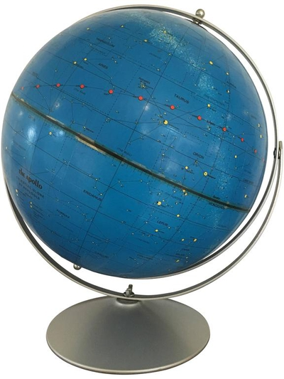 Apollo Celestial Globe, Replogle, circa 1971