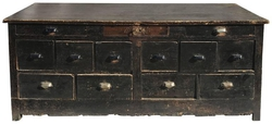 Vintage Wood Dresser, circa Early 20th Century