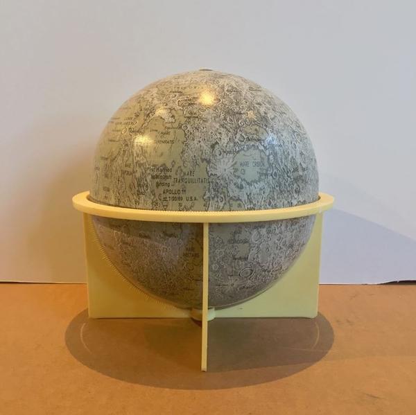 """Replogle 6"""" Metal Lunar Globe"""