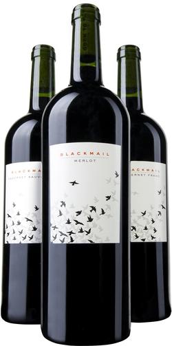 (BlackMail Merlot, BlackMail Cabernet Franc, BlackMail Cabernet Sauvignon)