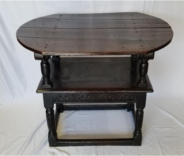 Jacobean Period Oak Table/Chair