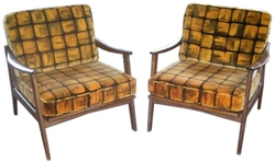 Pair of Vintage Swedish Design Chairs, circa 1960