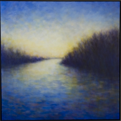 Quiet Light (Last Light at the Slough)